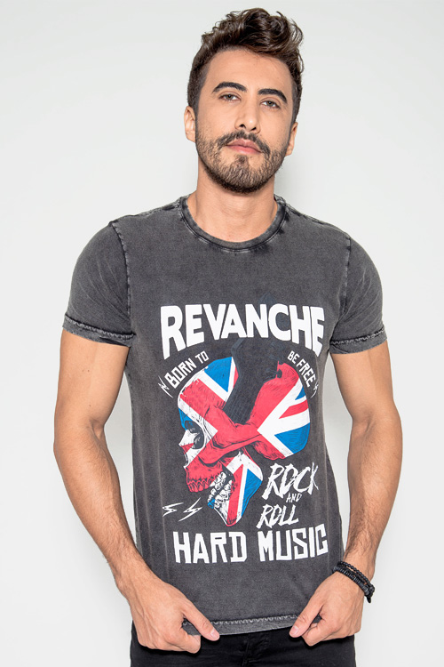 T-shirt Estonada Black